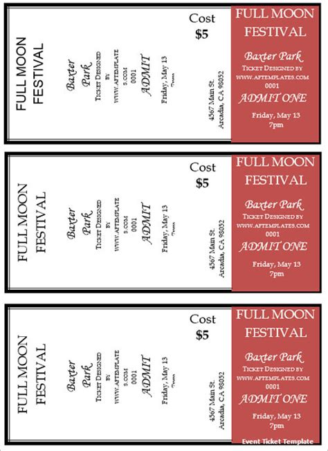 printable movie ticket template free 36 printable movie ticket templates free psd pdf excel