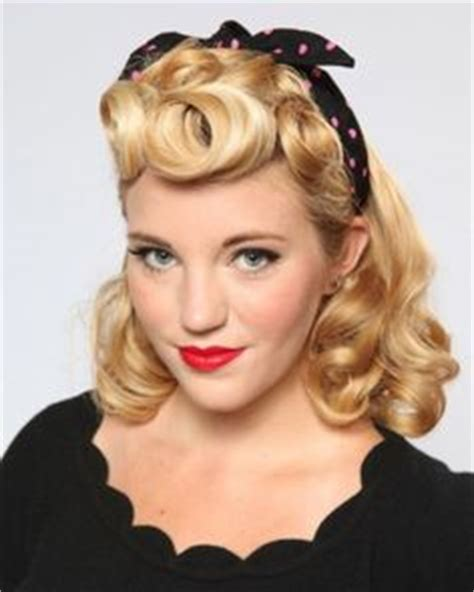 1950s hairstyles pin curls pin up hair on pinterest 1950s hair vintage pins and up