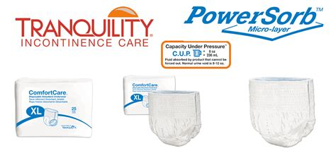 All Comfort Care by Tranquility Comfort Care Pull Ons Idiaper