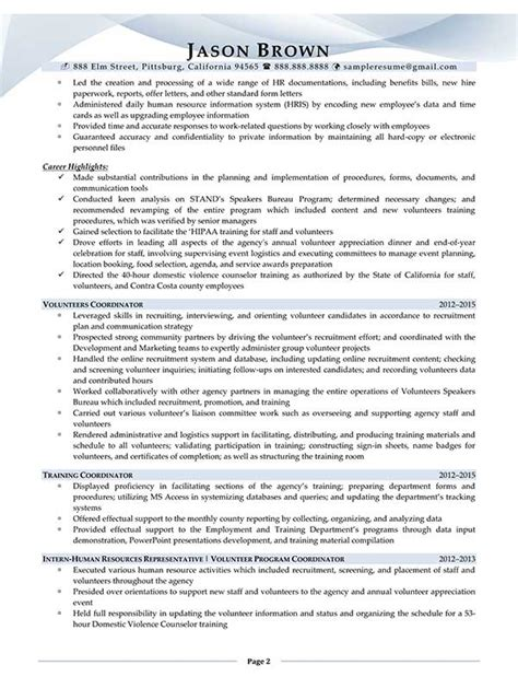 Administrative Specialist Sle Resume by Administrative Resume Exles Resume Professional Writers