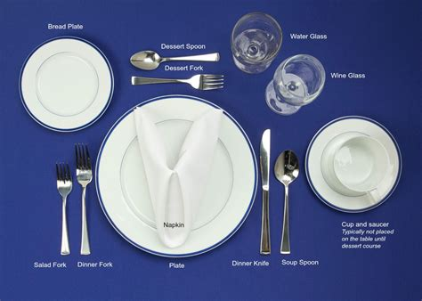 setting a table table setting 101 mrfood com