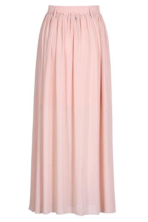 butterfly knot maxi skirt pink iwearsin