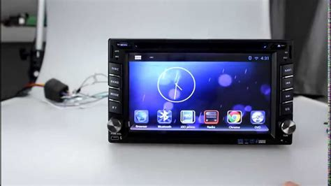 pure android  car stereo dvd player cpu ghz ddr gb