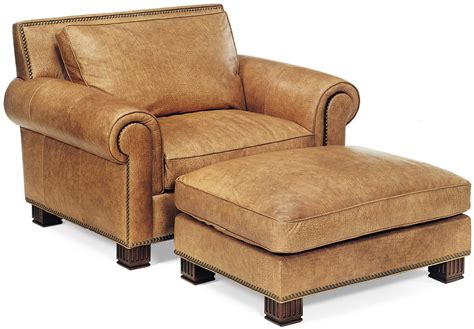 leather armchair with footstool leather armchair and matching ottoman bernadette livingston