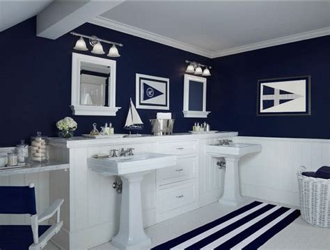 navy and white bathroom ideas 17 best ideas about navy bathroom on pinterest bathroom