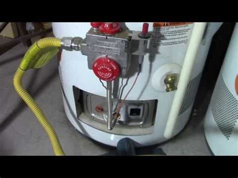 pilot light on water heater won t stay pilot light won t stay lit how to replace a broken