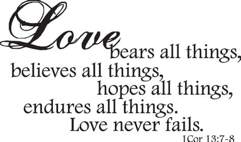 Wedding Quotes Corinthians by Quotes Images Corinthians Never Fails Quote In