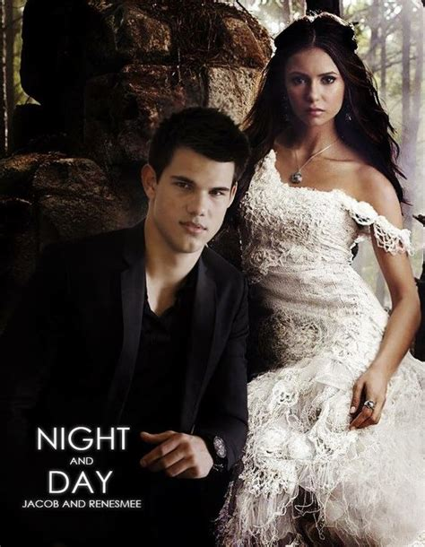 jacob black and renesmee cullen twilight saga wiki wikia mr and mrs edward cullen request the honour of your