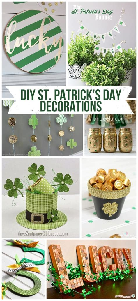 diy st patrick s day decorations landeelu com