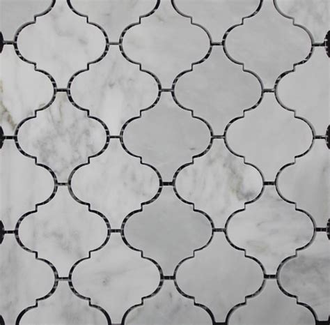 carrara marble lantern mosaic contemporary tile sydney by di lorenzo tiles