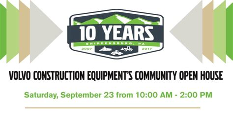 volvo construction equipments community open house september  ship saves