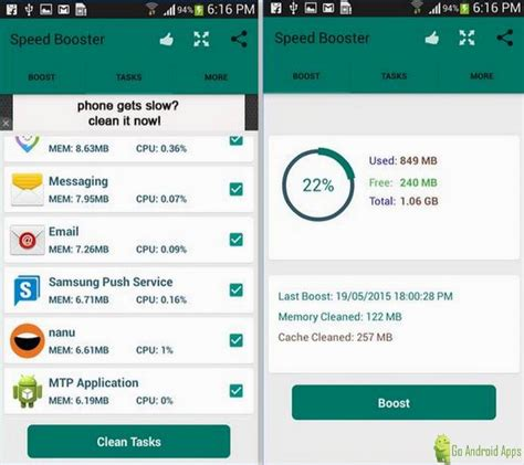 speed apps for android top 5 best android ram booster app