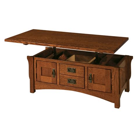 Open Top Coffee Table Lombard Lift Top Coffee Table Amish Furniture Amish Furniture Shipshewana Furniture Co