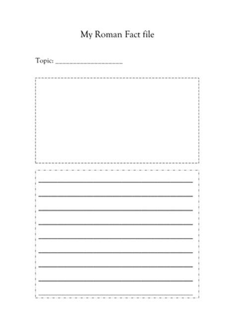 roman fact file sheet by leumas teaching resources tes