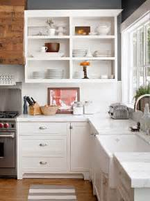 Kitchen Cabinets Open Shelving by Perched Concept Open Kitchen Shelving