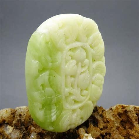 Batu Liontin Mustika liontin giok putih mustika kemakmuran pusaka dunia