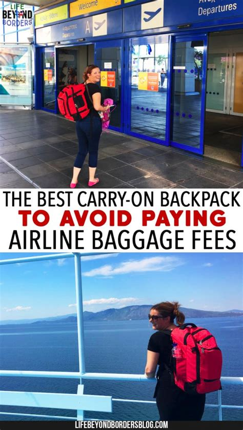 how to avoid checked baggage fees on major domestic hynes eagle the best carry on backpack to avoid paying
