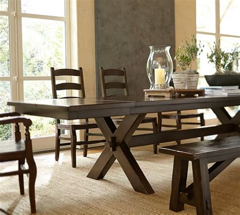 Pottery Barn Toscana Dining Table Toscana Bench Pottery Barn