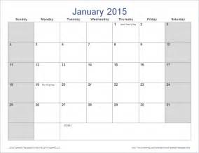 Calendar Template 2015 by 2015 Monthly Calendar Template Word New Calendar