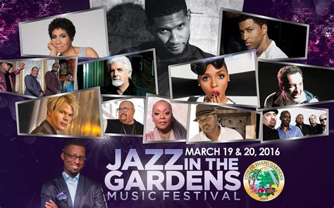 Jazz In The Garden Line Up by What Is The Line Up For Jazz In The Gardens 2016 Autos Post