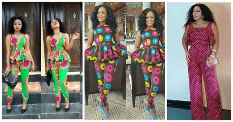 ankara designs for women trouser and jacket styles 6 pant trousers jumpsuit in ankara styles