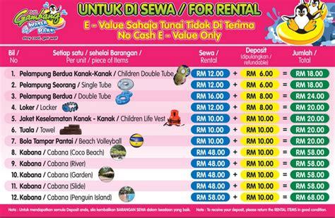 Tiket Park bajet kewangan bercuti di bukit gambang resort city yang