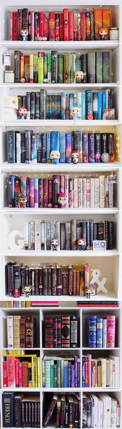 25 best ideas about bookshelf organization on