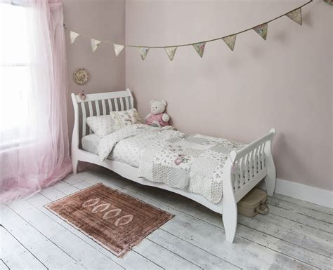 Single Bed In White With Sleigh Design Astrid Bed Frame Ebay Single Bed Frame