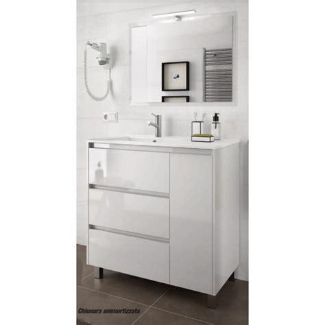 mobili bagno da terra mobile bagno arredo bagno 85 cm a terra con specchio