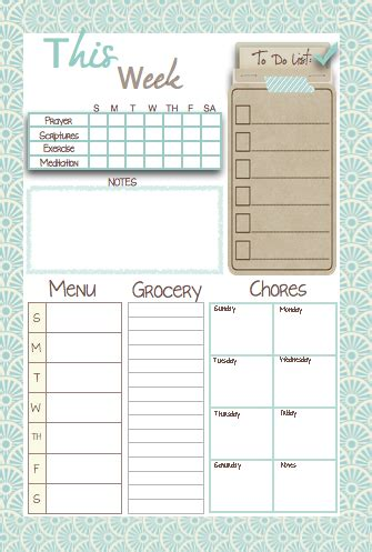 weekly planner for moms printable mormon mom planners monthly planner weekly planner