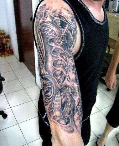 tattoo biomechanical wzory biomechanical tattoo on arm