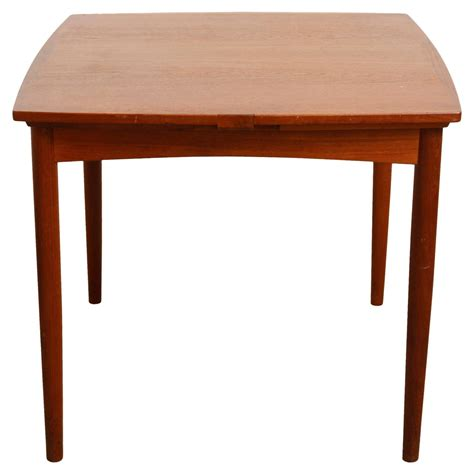 poul hundevad convertible teak or dining table at 1stdibs
