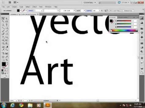 tutorial adobe illustrator cs5 español typography tutorial with adobe illustrator cs5 youtube