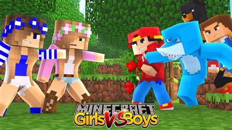 boy vs minecraft vs boys