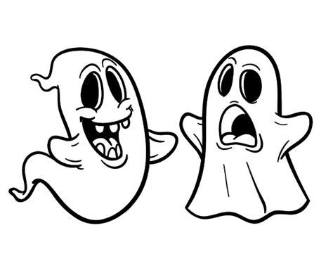 imagenes de calaveras fantasmas dibujo de fantasmas para colorear dibujos net