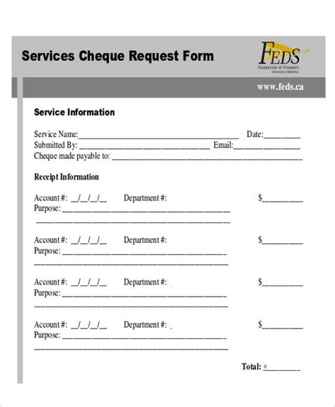 cheque request form sle cheque request form 7 exles in word pdf