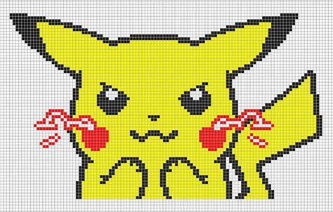 minecraft pixel art grid pikachu 8rv72cz4 png 886 215 566