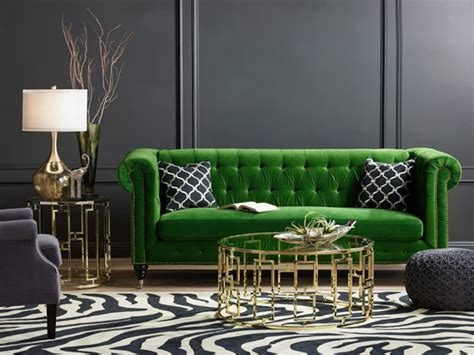bedroom and living room furniture styling around a statement sofa home decorating