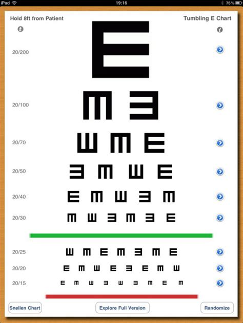 printable eye acuity chart search results for vision exam chart calendar 2015