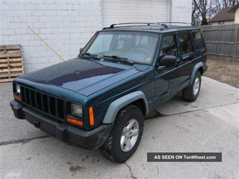 1997 jeep manual 1997 jeep xj four door 4x4 five speed manual