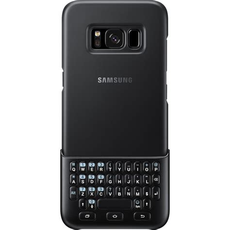 samsung galaxy s8 keyboard cover black ej cg950bbegww b h