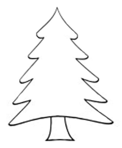 christmas tree drawing outline designcorner