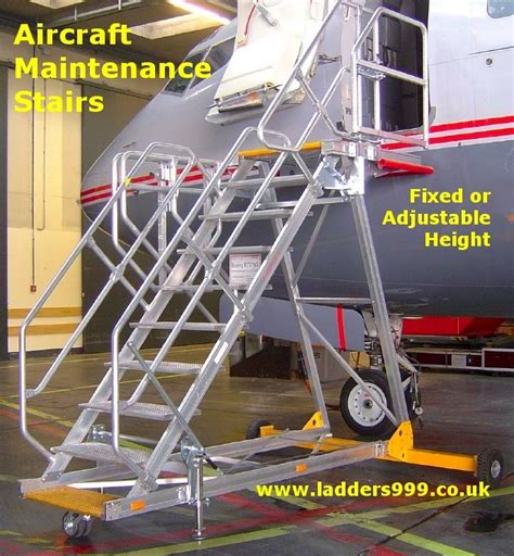 aircraft maintenance step ladders aircraft maintenance stairs lansford access ltd