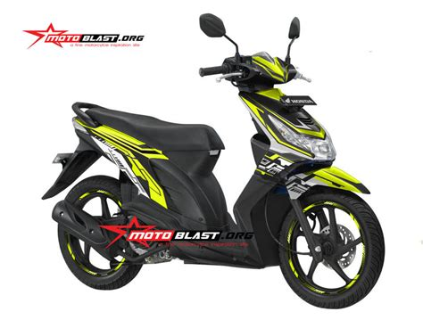 Striping Suzuki Lets Hijau modifikasi striping honda beat karbu green lime hitech