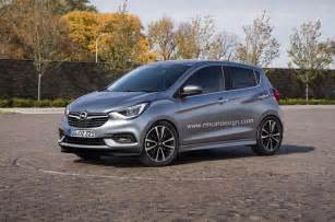 Opel And Vauxhall 2017 Opel Karl Vauxhall Viva Facelift Rendered