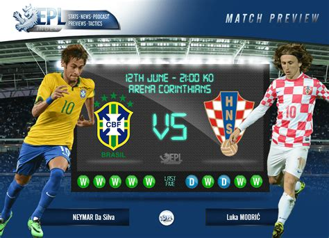 brazil vs croatia match preview a world cup 2014