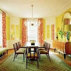 Orange Dining Room Design Ideas Terracotta Orange Colors And Matching Interior Design