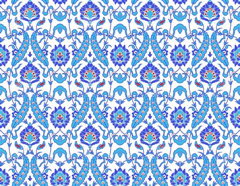 pattern islamic 13906275 vector of islamic flower pattern on white stock