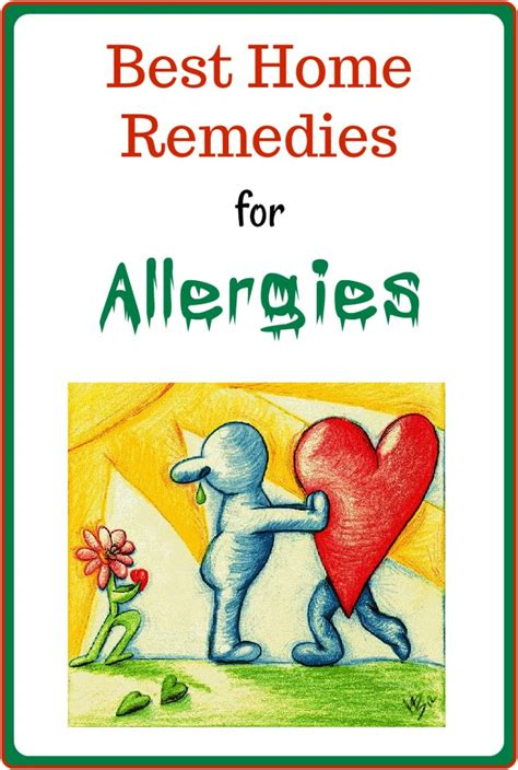 25 best ideas about home remedies for allergies on