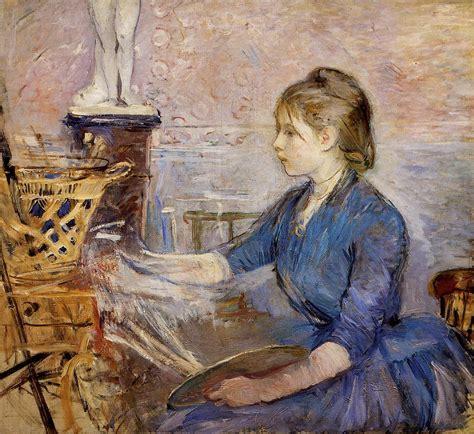 Berthe Morisot In The Dining Room by Art Amp Artists Berthe Morisot Part 2